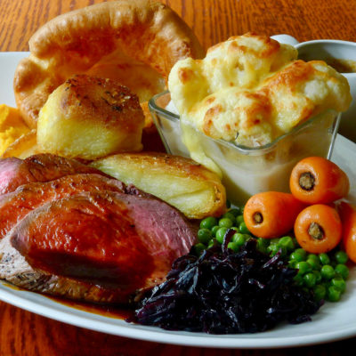 Now serving Sunday Lunch...