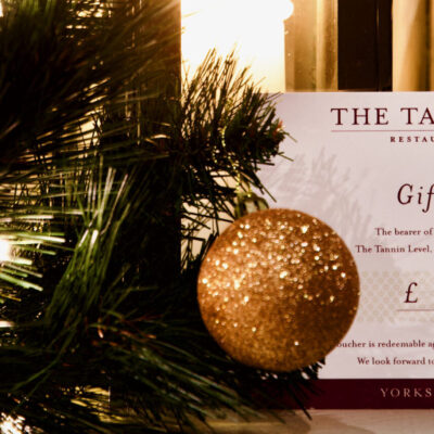 Tannin Level Gift Vouchers... A Perfect Christmas Gift!