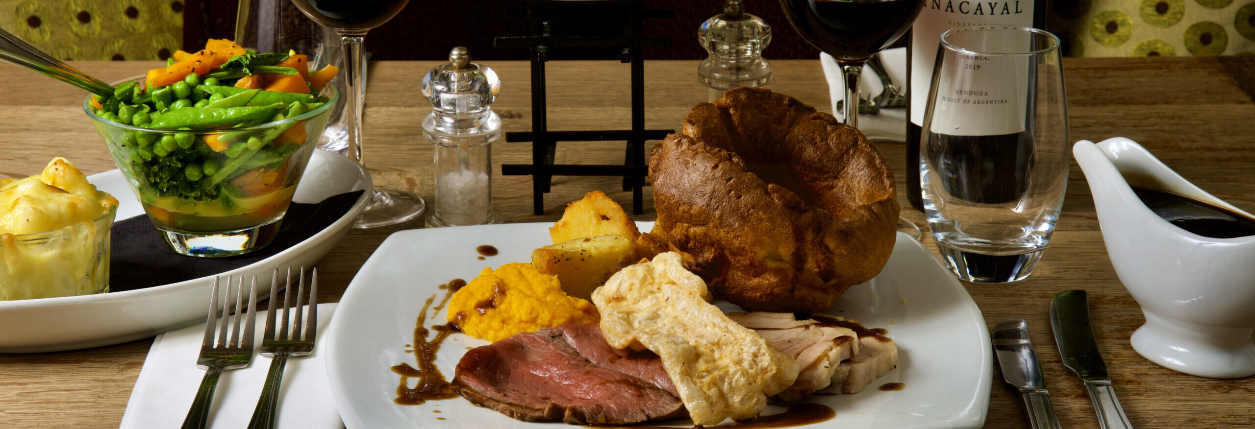 The Tannin Level Sunday Lunch…